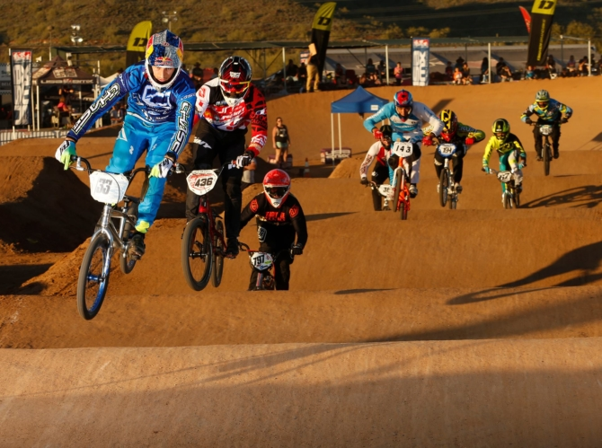 Joris Daudet wins both days at USA BMX Winter Nationals