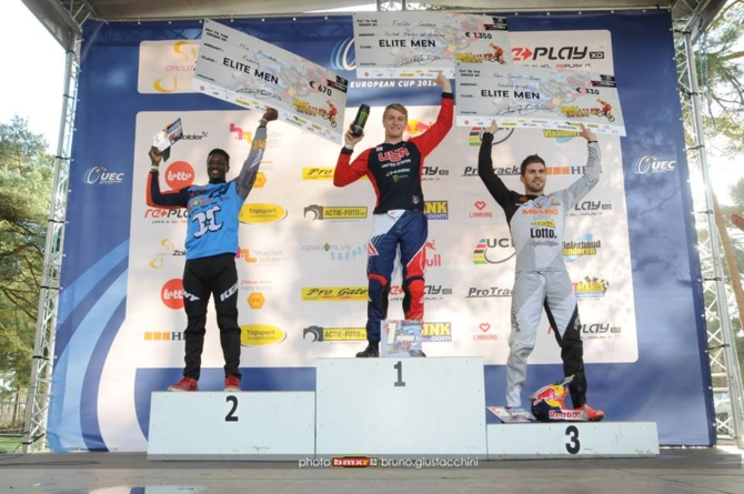 Connor Fields wins the opening round of the Zolder, Belgium