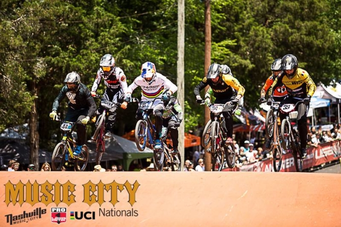 Joris Daudet wins both days at USA BMX in Nashville and Romain Mahieu wins French Cup