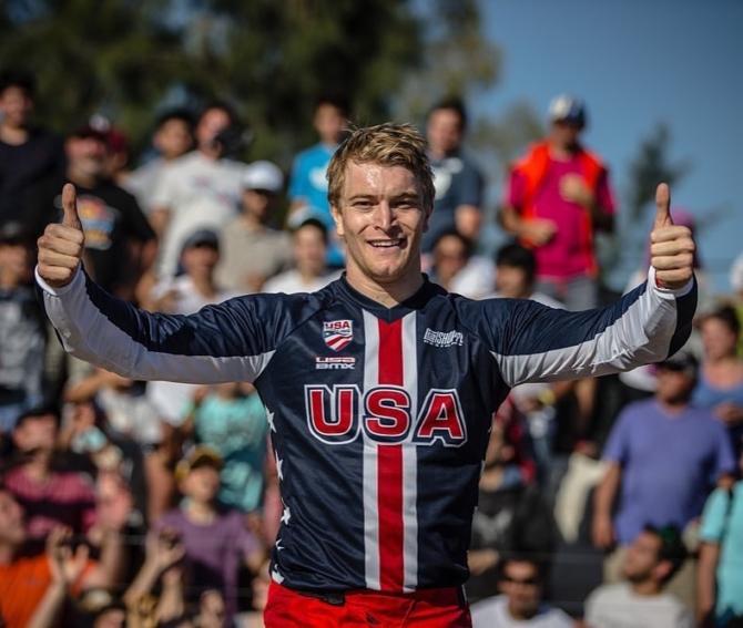 Connor Fields wins UCI World Cup Finals at Santiago Del Estero, Argentina