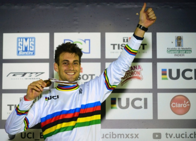 Joris Daudet is the New UCI BMX Elite Men's World Champion!