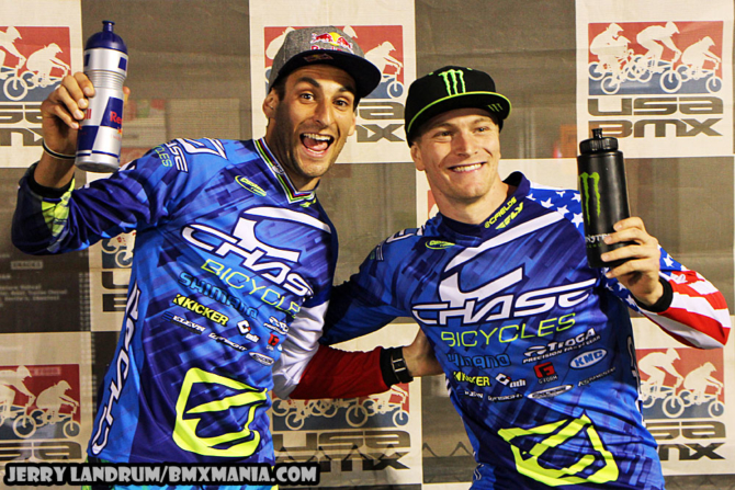 Joris Daudet and Connor both on the Podium at Rock Hills, SC.