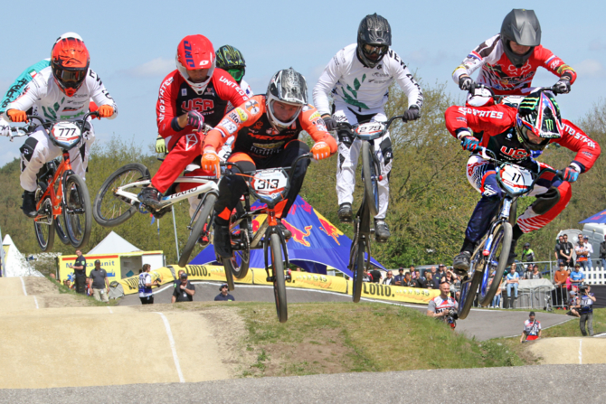 Connor Fields wins Time Trail Finals at Papendal, Holland