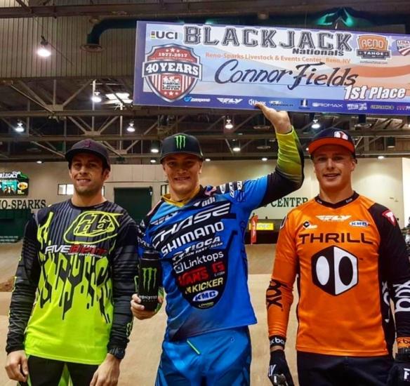 Connor wins 2 days at USA BMX Blackjack Nationals in Reno, NV