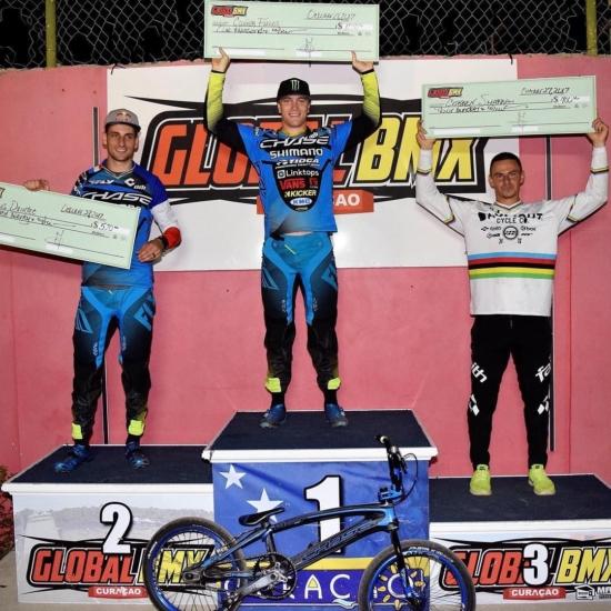 Fields and Daudet split wins at the USA BMX Global BMX National