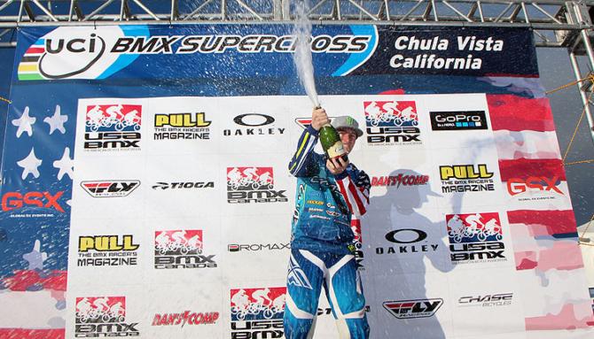 Connor Fields wins UCI BMX Supercross World Cup TT Finals