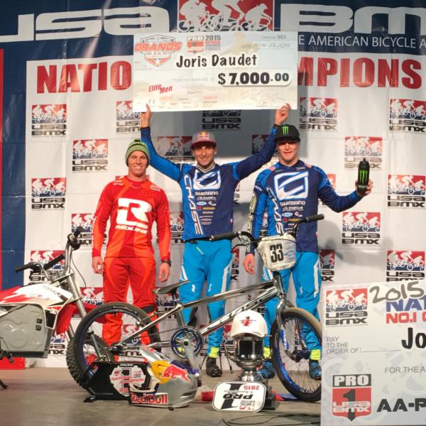 Joris Daudet wins the USA BMX #1 Pro Title